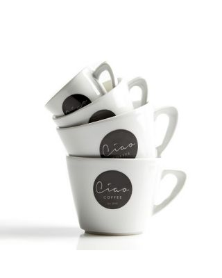 Ciao Cups & Saucers - 6 x 14oz