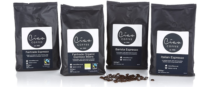 Ciao Coffee Beans