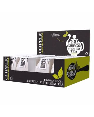 Clipper Tea Tagged Display Box 6x100