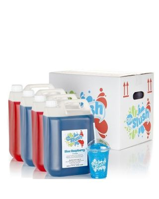 Slush Syrup Mixed Case 4x5Ltr