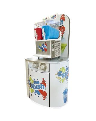 Mr Slush Machine Serving Counters