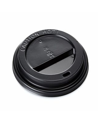 Ciao Black Sip Lids 500 8oz