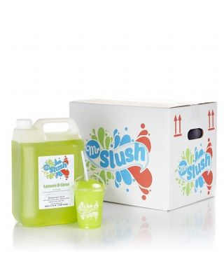 Mr Slush Syrup Lemon & Lime 4x5Ltr