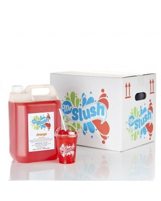 Mr Slush Syrup Orange 4x5Ltr