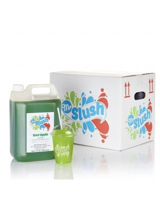 Slush Syrup Sour Apple 4x5Ltr