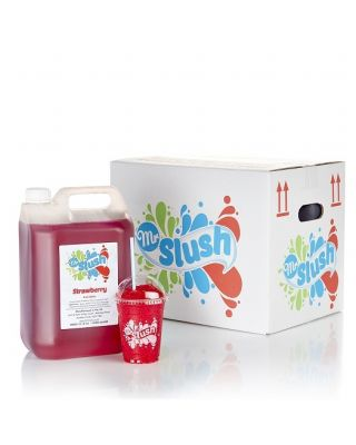 Mr Slush Syrup Strawberry 4x5Ltr