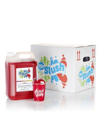Mr Slush Syrup Strawberry Lemonade 4x5Ltr