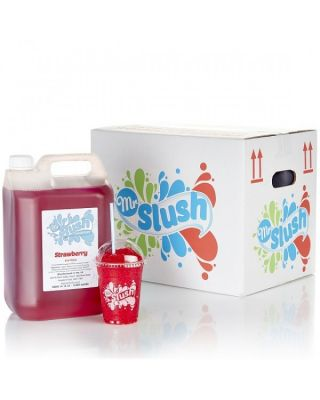 SUGAR FREE Mr Slush Syrup Strawberry