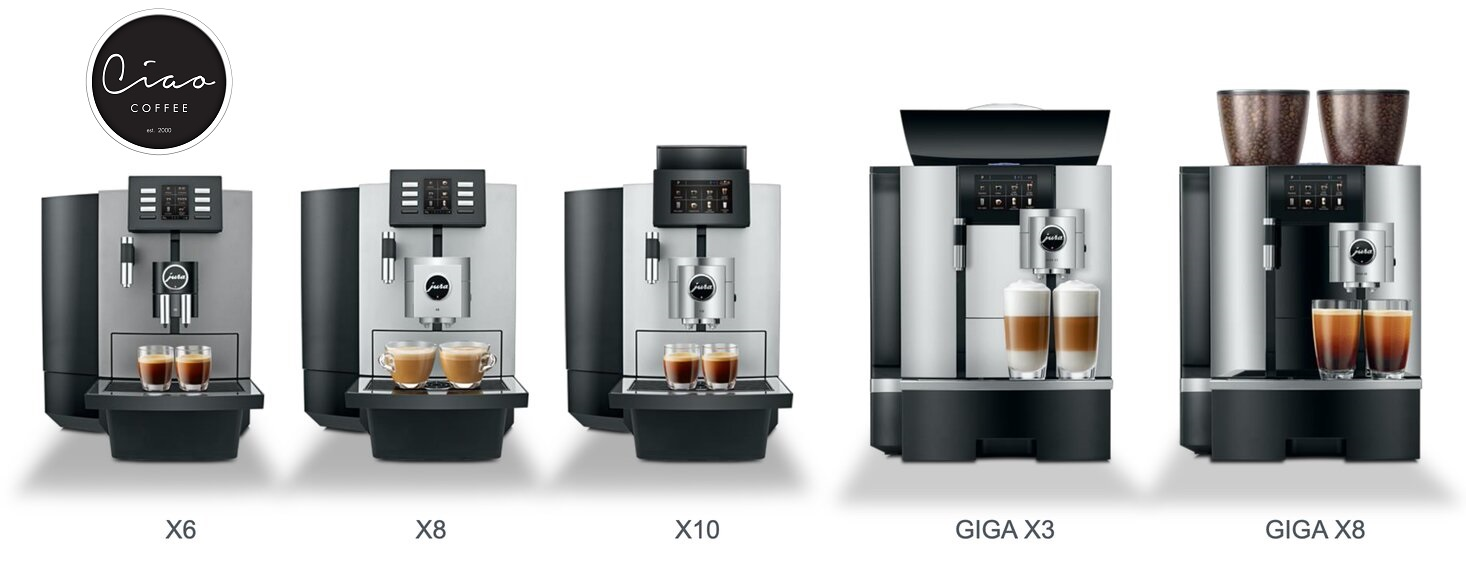 Jura Coffee Machine Range